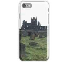 Whitby Abbey on a beautiful Autumn day  iPhone Case/Skin