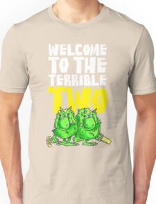 Graphic Terrible Two (dark) Unisex T-Shirt
