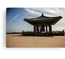 The Korean Friendship Bell Canvas Print