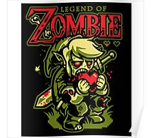 The Legend of Zombie Zelda Poster