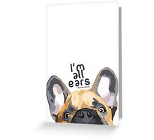 Flappy ears Greeting Card
