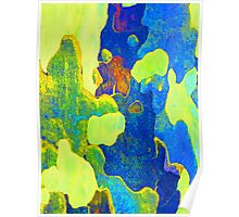 Summer Eucalypt Abstract 14 Poster