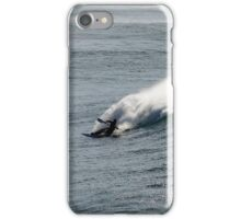 Riding the waves iPhone Case/Skin