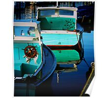 Wooden Boats Poster
