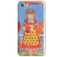 PUMPKIN GIRL iPhone Case/Skin