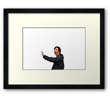Sameberbatch Framed Print