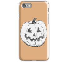 grinning jack-o-lantern iPhone Case/Skin
