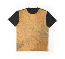 Map of Lunenburg 1864 Graphic T-Shirt