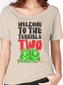 Graphic Terrible Two (white) Women's Relaxed Fit T-Shirt