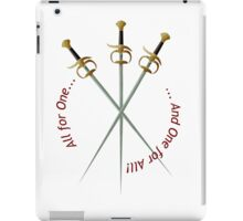 Musketeer Mantra iPad Case/Skin