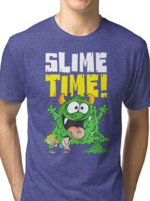 Graphic Slimey Joe (dark) Tri-blend T-Shirt