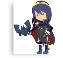 Chibi Lucina Vector Canvas Print