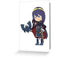 Chibi Lucina Vector Greeting Card