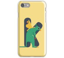K for Kangoroo iPhone Case/Skin