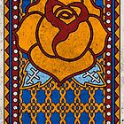 Spanish Rose (blue) by coolihawk