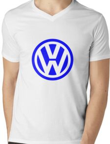 Volkswagen Logo Mens V-Neck T-Shirt