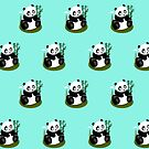 Baby Panda (Pattern 2) by Adamzworld