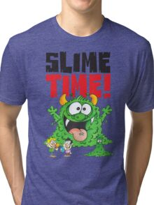 Graphic Slimey Joe Tri-blend T-Shirt