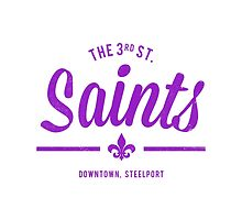 Third Street Saints (Purple) by asirensong