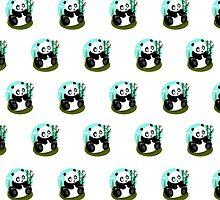 Baby Panda (Pattern 1) by Adamzworld