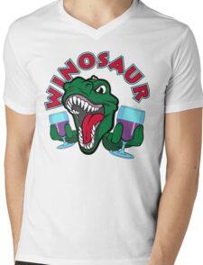 Winosaur Mens V-Neck T-Shirt