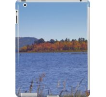 RIVER VIEW IN AUTUMN iPad Case/Skin