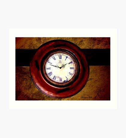 Beckley Exhibition Coal Mine ~ Clock Art Print