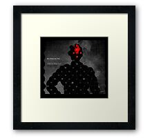 Subject: What you know. 3 Framed Print