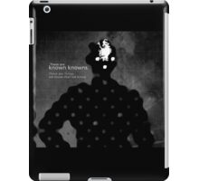 Subject: What you know. iPad Case/Skin