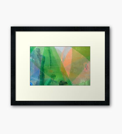 Boys in bubbles Framed Print