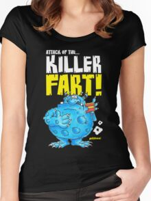 Graphic George (dark) Women's Fitted Scoop T-Shirt