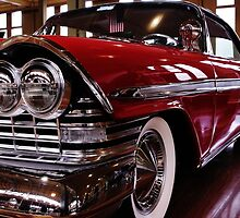 Red Plymouth Fury. by Jeanette Varcoe.