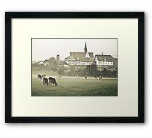 Pastures | Weide Framed Print