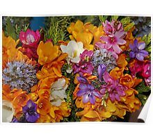 Spring Mixed Bouquet Poster