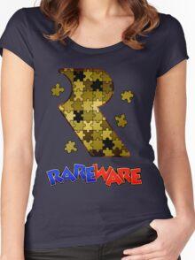 Rareware Banjo-Kazooie Style Women's Fitted Scoop T-Shirt
