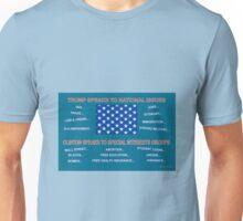 Trump & Clinton Speak Unisex T-Shirt