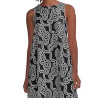 Electric Blur (Mitosis) A-Line Dress