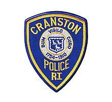 Cranston Police Photographic Print