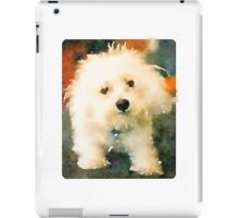 Shaggy Bichon iPad Case/Skin