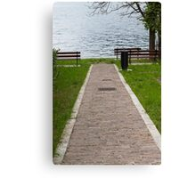 landscape lake Canvas Print