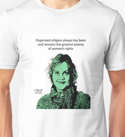 Annie Laurie Gaylor Women's Rights Unisex T-Shirt