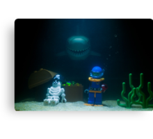 Sunken Lego treasure Canvas Print