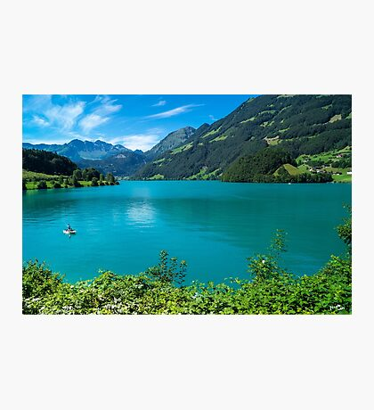 Green Lake Lucerne Photographic Print