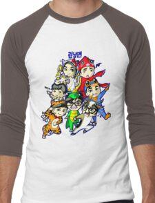 Running Man Kigurumi Men's Baseball ¾ T-Shirt