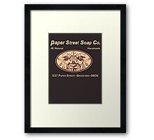 Paper Street Soap Co.T-Shirt Framed Print