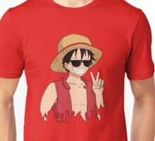 "ONE PIECE: ""The Cool Captain"" Luffy In Shades Unisex T-Shirt"
