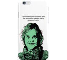 Annie Laurie Gaylor FFRF iPhone Case/Skin