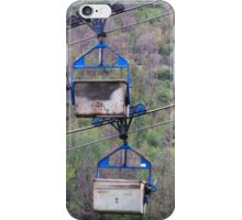 cableway in the mountains iPhone Case/Skin