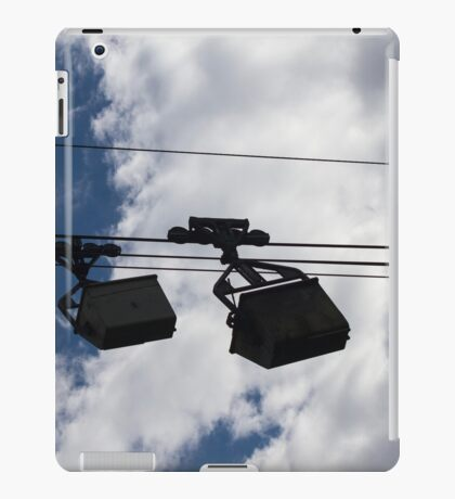 cableway in the mountains iPad Case/Skin