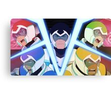 Voltron Characters Canvas Print